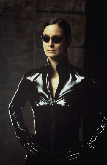 Carrie Anne Moss as Trinity in 'The Matrix'