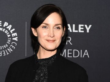 Carrie Anne Moss attends The Paley Center For Media Presents: An Evening With Jessica Jonesat The Paley Center for Media on March 8, 2018 in New York City.  (Photo by Ilya S. Savenok/Getty Images)
