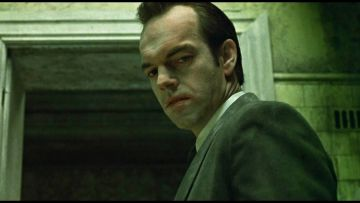 Hugo Weaving as Agent Smith in 'The Matrix'