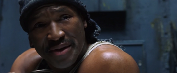 Anthony Ray Parker as Dozer in 'The Matrix'