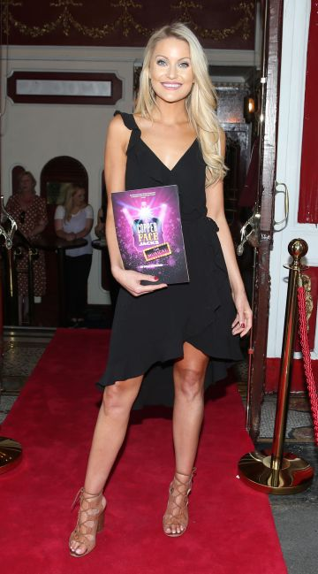 Kerri Nicole Blanc at the opening night of  Copper Face Jacks The Musical at  the Olympia Theatre which  runs until the 10th August.Photo: Leon Farrell/Photocall Ireland.
