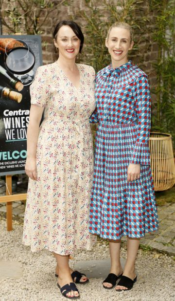 Maria Reidy and Joanne Kennedy at the Centra 'Wines We Love' event in Dublin. Photo: Kieran Harnett