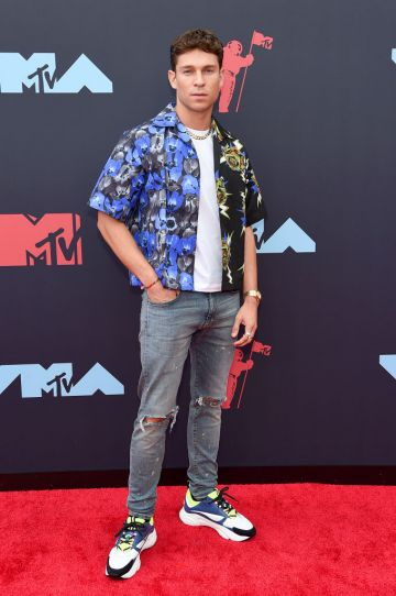 Joey Essex attends the 2019 MTV Video Music Awards at Prudential Center on August 26, 2019 in Newark, New Jersey. (Photo by Jamie McCarthy/Getty Images for MTV)