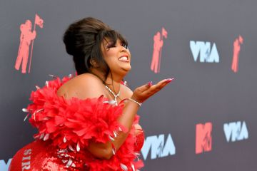 Lizzo attends the 2019 MTV Video Music Awards at Prudential Center on August 26, 2019 in Newark, New Jersey. (Photo by Dia Dipasupil/Getty Images for MTV)