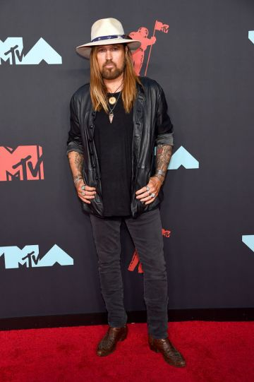 Billy Ray Cyrus attends the 2019 MTV Video Music Awards at Prudential Center on August 26, 2019 in Newark, New Jersey. (Photo by Jamie McCarthy/Getty Images for MTV)