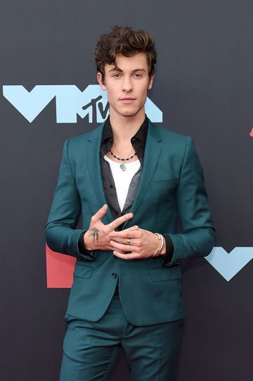 Shawn Mendes attends the 2019 MTV Video Music Awards at Prudential Center on August 26, 2019 in Newark, New Jersey. (Photo by Jamie McCarthy/Getty Images for MTV)