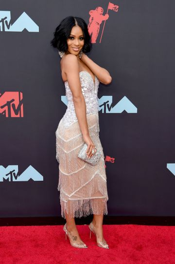 Pretty Vee attends the 2019 MTV Video Music Awards at Prudential Center on August 26, 2019 in Newark, New Jersey. (Photo by Jamie McCarthy/Getty Images for MTV)