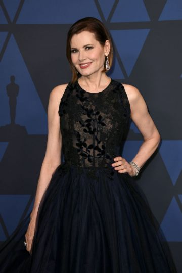 Geena Davis attends the Academy Of Motion Picture Arts And Sciences' 11th Annual Governors Awards at The Ray Dolby Ballroom at Hollywood & Highland Center in Hollywood, California. (Photo by Kevin Winter/Getty Images)