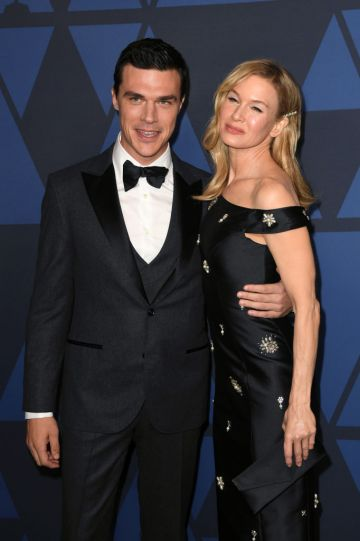 Finn Wittrock and Renée Zellweger attend the Academy Of Motion Picture Arts And Sciences' 11th Annual Governors Awards at The Ray Dolby Ballroom at Hollywood & Highland Center in Hollywood, California. (Photo by Kevin Winter/Getty Images)