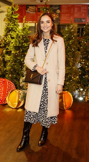 Niamh O'Sullivan pictured at the M&S Christmas Market inspired press show in the M&S Rooftop Café,  Grafton Street to celebrate the M&S Christmas food collection. Picture: Andres Poveda