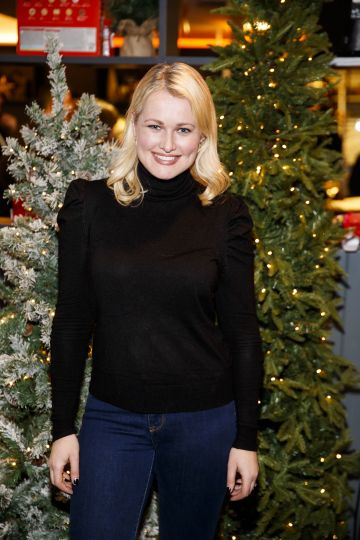 Lorna Weightman pictured at the M&S Christmas Market inspired press show in the M&S Rooftop Café,  Grafton Street to celebrate the M&S Christmas food collection. Picture: Andres Poveda