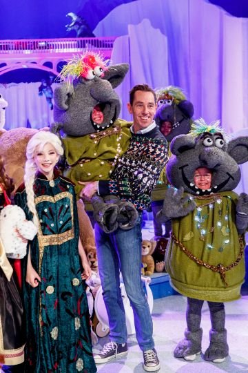 Ryan Tubridy is pictured at the set reveal for The Late Late Toy Show 2019 which will take place on Friday 29th November at 9:35pm on RTÉ One. Picture: Andres Poveda