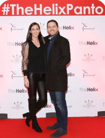 Pictured are  Joey and Suzanne Kane at the opening night of The Three Musketeers at The Helix.  Photo: Sasko Lazarov/Photocall Ireland