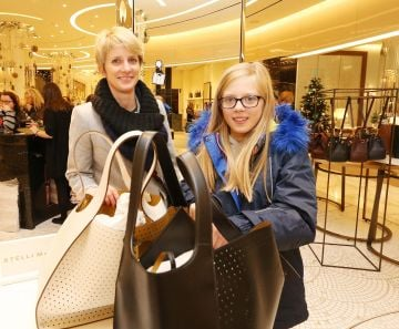 26/12/2019  Brown Thomas Sale. Pictured are Annika and Marie age9 Weber from Dublin today (26th December 2019) at the highly anticipated Brown Thomas Sale.  Photo: Sasko Lazarov/Photocall Ireland