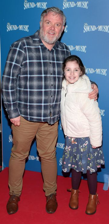 Liam Coburn and Abigail Coburn  pictured at the opening night of The Sound of Music at the Bord Gais Energy Theatre, Dublin. Pic Brian McEvoy