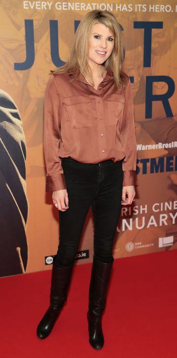 Jenny Buckley at the special preview screening of Just Mercy at the Lighthouse Cinema, Dublin. Pic Brian McEvoy