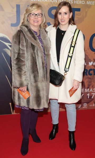 Jennifer Howard and Eimear Howard at the special preview screening of Just Mercy at the Lighthouse Cinema, Dublin. Pic Brian McEvoy