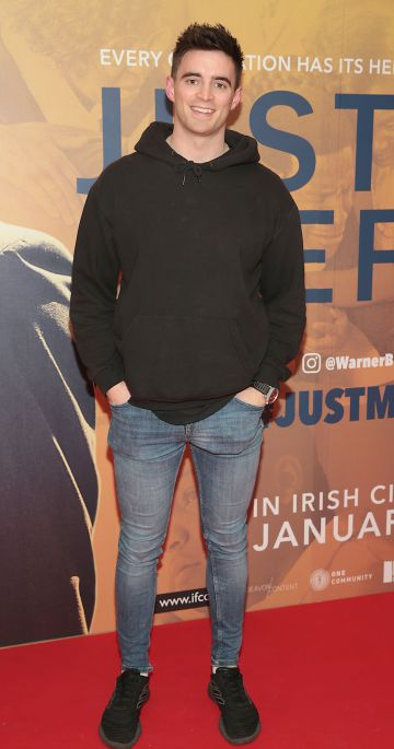 Peter Collins at the special preview screening of Just Mercy at the Lighthouse Cinema, Dublin. Pic Brian McEvoy