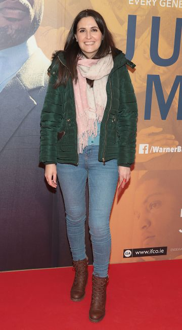 Mona Pavel at the special preview screening of Just Mercy at the Lighthouse Cinema, Dublin. Pic Brian McEvoy