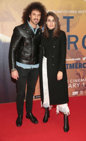 Carl Shaaban and Amalia Vkinceand at the special preview screening of Just Mercy at the Lighthouse Cinema, Dublin. Pic Brian McEvoy