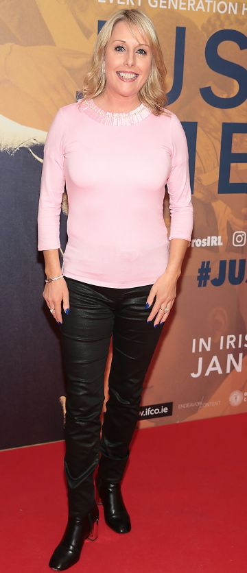Romy Carroll at the special preview screening of Just Mercy at the Lighthouse Cinema, Dublin. Pic Brian McEvoy