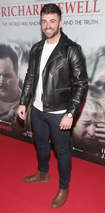 Karl Bowe pictured at the special preview screening of Richard Jewell at Cineworld, Dublin. Pic: Brian McEvoy