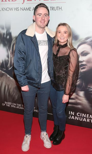 Sean Clarke and Karen Sheehy pictured at the special preview screening of Richard Jewell at Cineworld, Dublin. Pic: Brian McEvoy