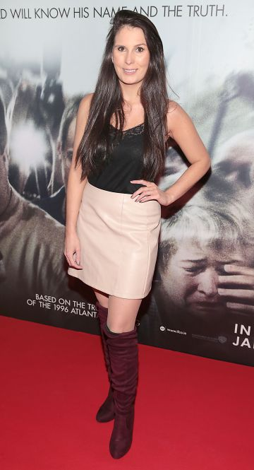 Dani Masterson pictured at the special preview screening of Richard Jewell at Cineworld, Dublin. Pic: Brian McEvoy