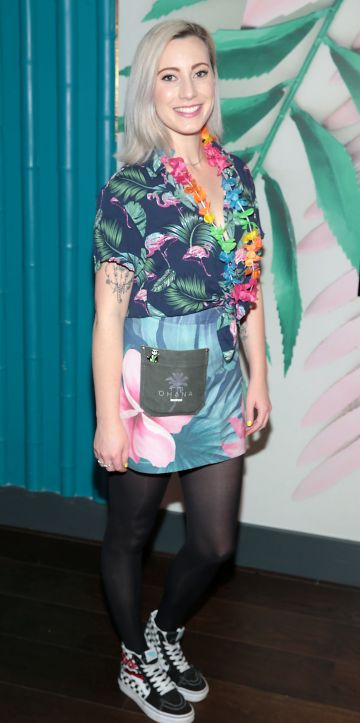 Nicole Rowland pictured at the opening of Ohana in Harcourt Street, Dublin. Pic: Brian McEvoy