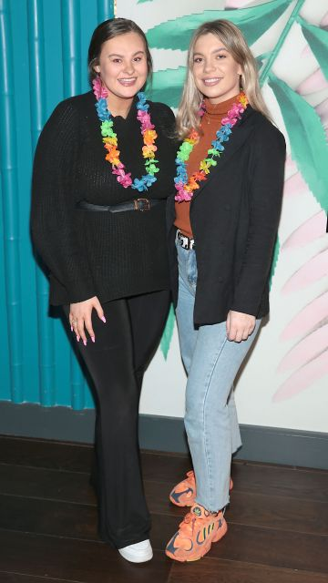 Ruth Dagge and Ashley Mahon pictured at the opening of Ohana in Harcourt Street, Dublin. Pic: Brian McEvoy