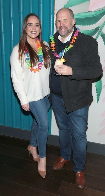 Charlotte Hughes and Ian Redmond pictured at the opening of Ohana in Harcourt Street, Dublin. Pic: Brian McEvoy