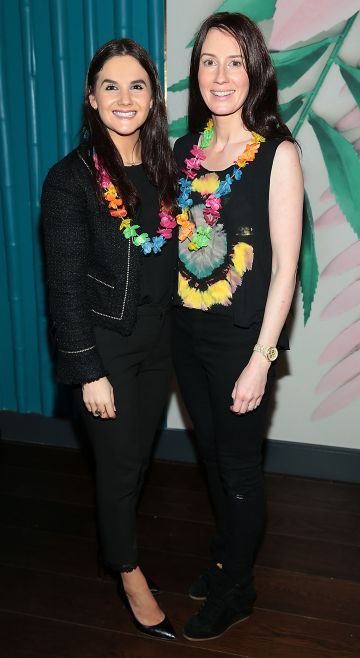 Karla Stein and Louise McDermott pictured at the opening of Ohana in Harcourt Street, Dublin. Pic: Brian McEvoy