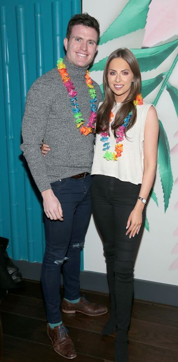 Paddy O Connor and Ali Leddin pictured at the opening of Ohana in Harcourt Street, Dublin. Pic: Brian McEvoy