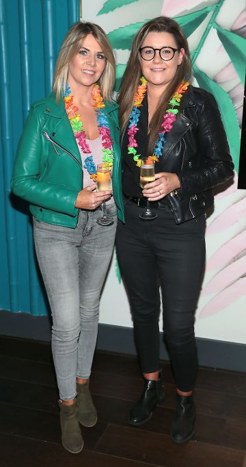 Jules Mahon and Erica Hudson pictured at the opening of Ohana in Harcourt Street, Dublin. Pic: Brian McEvoy