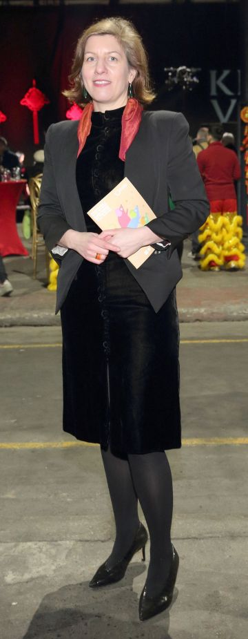 Aimee Van Wylick at the opening ceremony of Dublin Chinese New Year Festival 2020 which runs from 24th January - 10th February and celebrates the Year of the Rat.  Pic: Brian McEvoy Photography