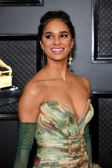 Misty Copeland attends the 62nd Annual GRAMMY Awards at Staples Center on January 26, 2020 in Los Angeles, California. (Photo by Amy Sussman/Getty Images)
