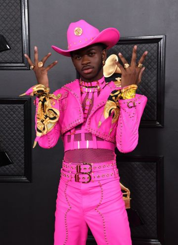 Lil Nas X attends the 62nd Annual GRAMMY Awards at Staples Center on January 26, 2020 in Los Angeles, California. (Photo by Jon Kopaloff/FilmMagic)