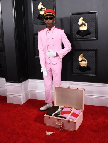 Tyler, the Creator attends the 62nd Annual GRAMMY Awards at Staples Center on January 26, 2020 in Los Angeles, California. (Photo by Jon Kopaloff/FilmMagic)