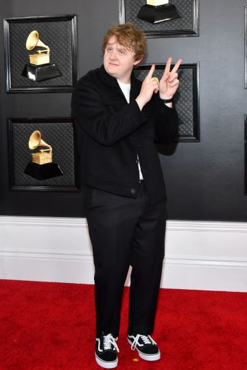 Lewis Capaldi attends the 62nd Annual GRAMMY Awards at Staples Center on January 26, 2020 in Los Angeles, California. (Photo by Amy Sussman/Getty Images)
