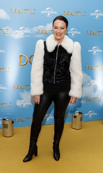 Triona McCarthy pictured at the Universal Pictures special preview screening of Dolittle at Odeon Point Square, Dublin.