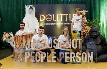 The Universal Pictures special preview screening of Dolittle at Odeon Point Square, Dublin.