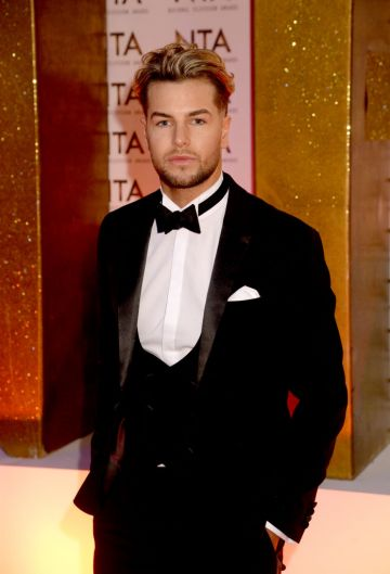 Chris Hughes attends the National Television Awards 2020 at The O2 Arena on January 28, 2020 in London, England. (Photo by Dave J Hogan/Getty Images)