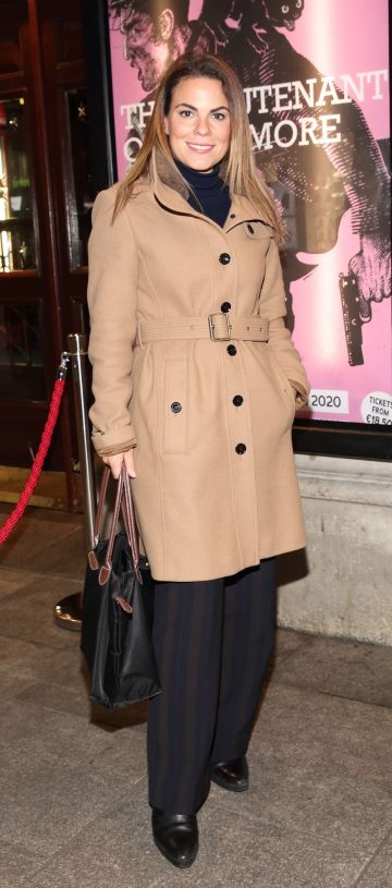 Avila Lipsett pictured at the opening of the Gaiety Theatre's major new production of Martin McDonagh's 'The Lieutenant of Inishmore', which will run at the Gaiety Theatre until 14th March.