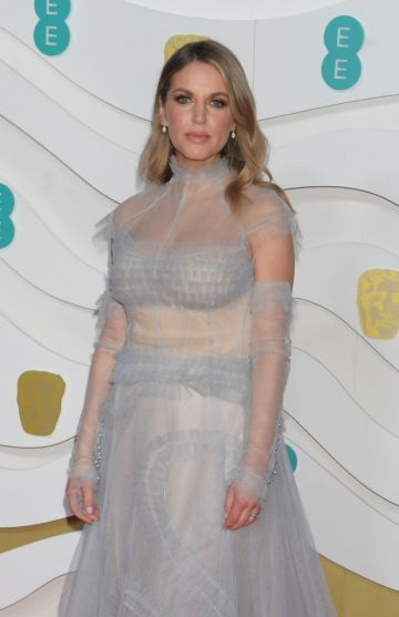 Amy Huberman arrives at the EE British Academy Film Awards 2020 at Royal Albert Hall on February 2, 2020 in London, England. (Photo by David M. Benett/Dave Benett/Getty Images)