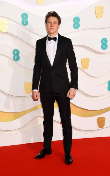 George MacKay attends the EE British Academy Film Awards 2020 at Royal Albert Hall on February 02, 2020 in London, England. (Photo by Dave J Hogan/Getty Images)