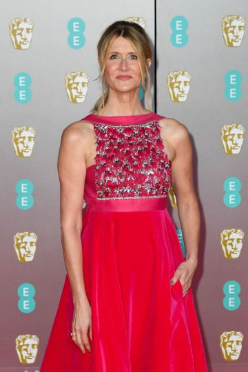 Laura Dern attends the EE British Academy Film Awards 2020 at Royal Albert Hall on February 02, 2020 in London, England. (Photo by Stephane Cardinale - Corbis/Corbis via Getty Images)
