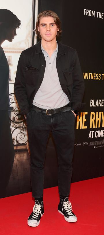 Jay Duffy pictured at the special preview screening of The Rhythm Section at the Light House Cinema, Dublin. Pic: Brian McEvoy Photography