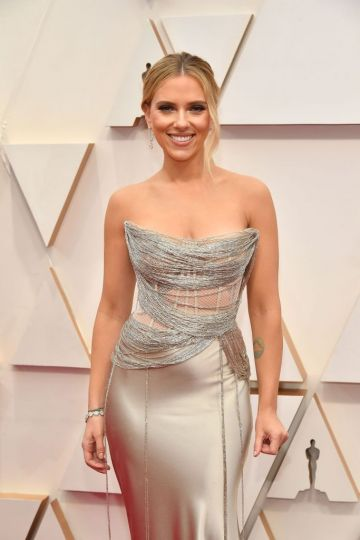 Scarlett Johansson attends the 92nd Annual Academy Awards at Hollywood and Highland on February 09, 2020 in Hollywood, California. (Photo by Amy Sussman/Getty Images)