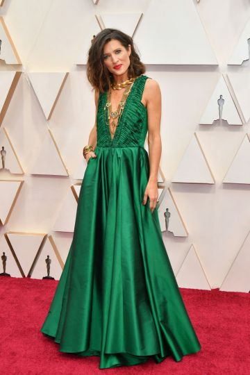 Chelsea Winstanley attends the 92nd Annual Academy Awards at Hollywood and Highland on February 09, 2020 in Hollywood, California. (Photo by Amy Sussman/Getty Images)