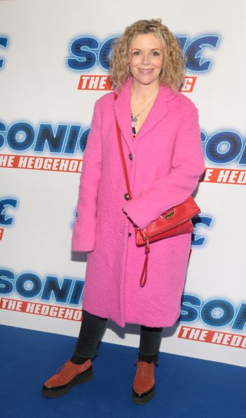 Denise McCormack at the special preview screening of Sonic the Hedgehog Movie at the Odeon Cinema in Point Square, Dublin. Pic: Brian McEvoy